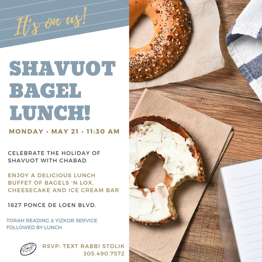 Shavuos Luncheon 2018